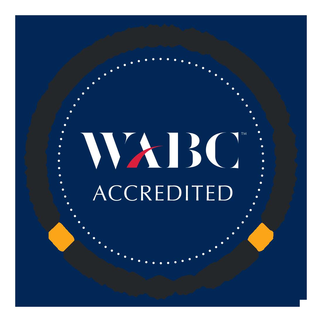 WABC Accredited (Level 2 – CBC) Badge