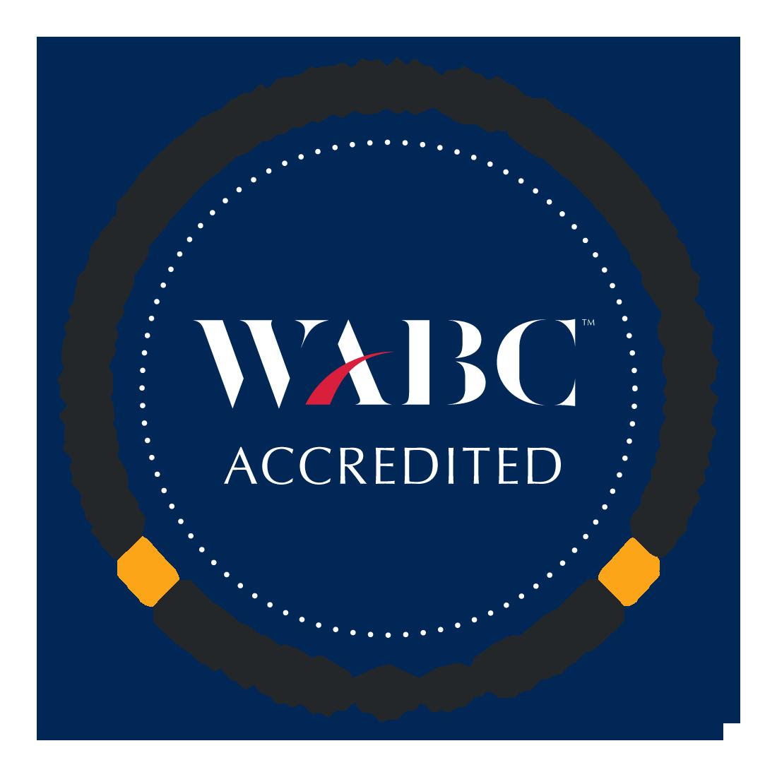 WABC Accredited (Level 1 - RCC) Badge