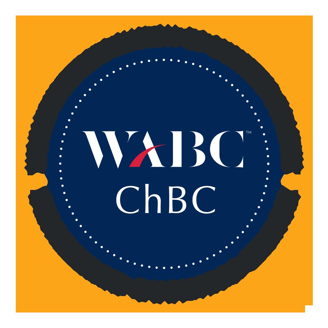 WABC ChBC Credential Badge