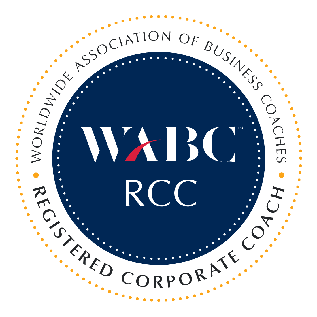WABC RCC Credential Badge